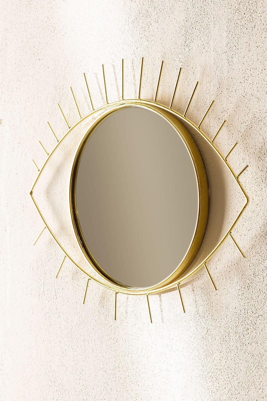 Yuls Metal Wall Mirror, gallery image 1