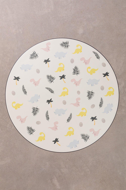 Round Vinyl Alfombra (Ø150 cm) Moes Kids, gallery image 1