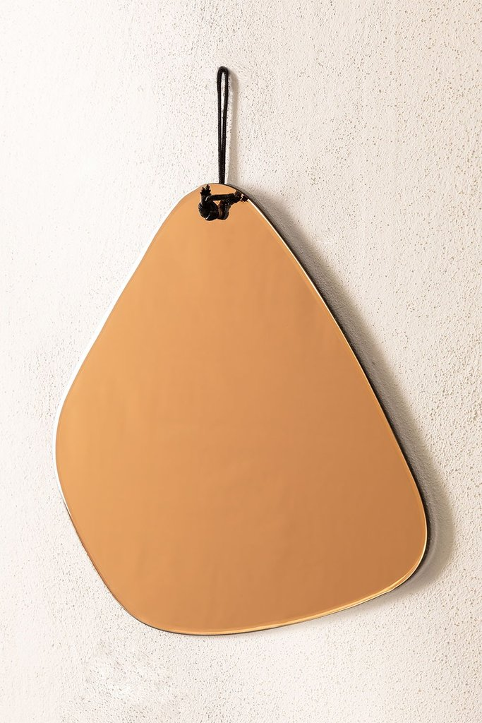 Gatie Smoked Wall Mirror, gallery image 1