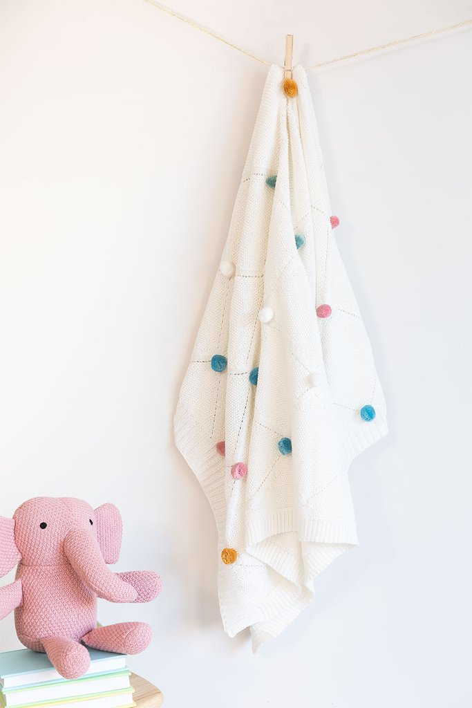 Volis Kids Cotton Knitted Swaddle, gallery image 1