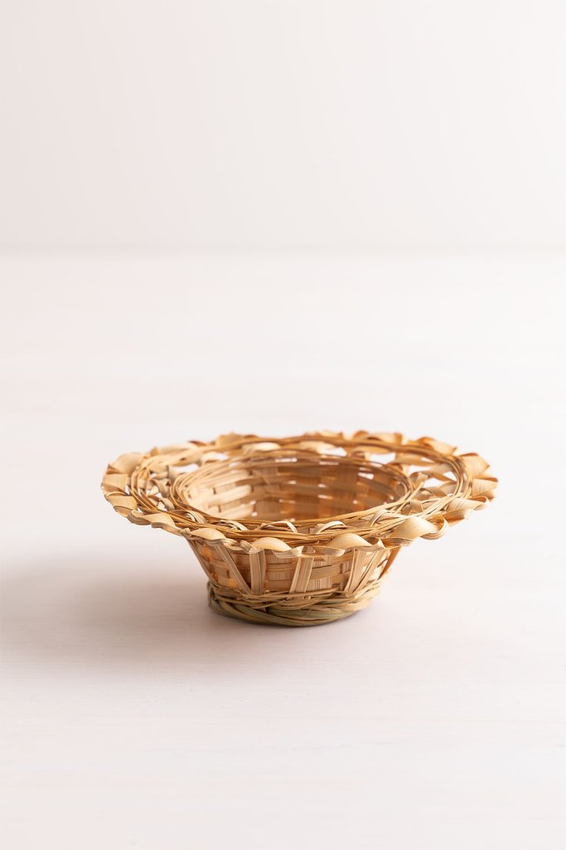 Decorative Plate in Rewa Bamboo, gallery image 1