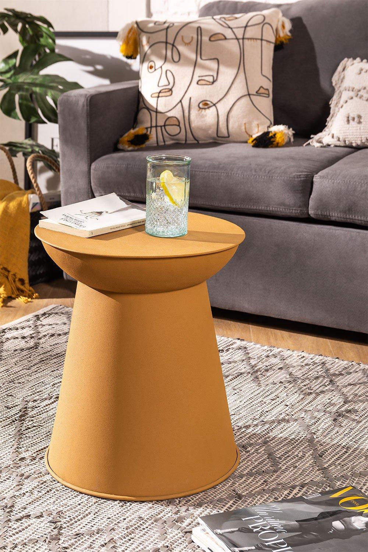 Round Metal Side Table (Ø37 cm) Bayi, gallery image 1