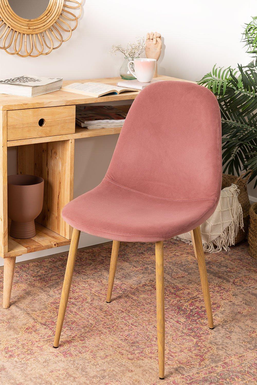 Glamm Velvet Chair, gallery image 1