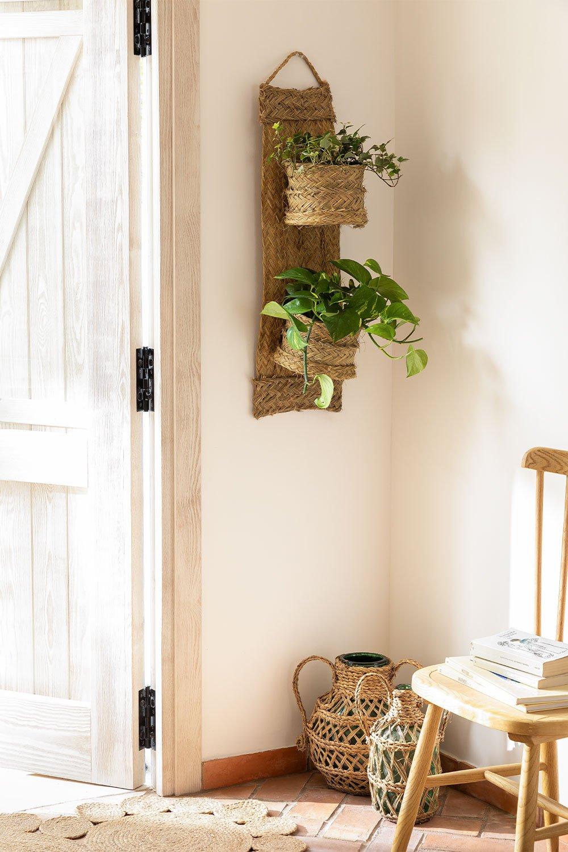 Wall Planter in Esparto Asmer, gallery image 1