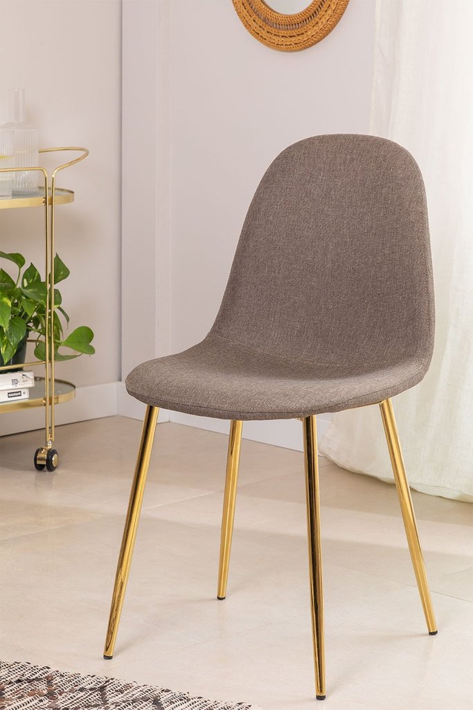 PACK of 2 Glamm Chairs in Linen, gallery image 1